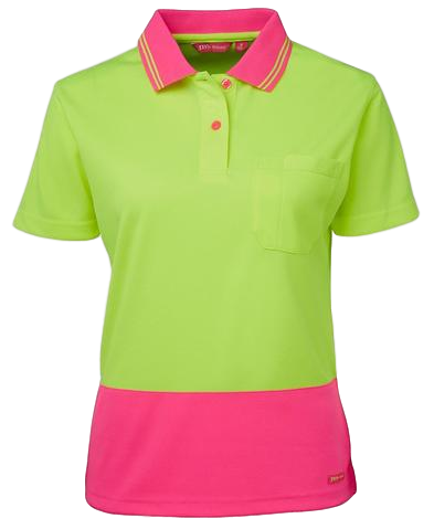 JB'S 6LHC HIVIS POLO LADIES S/S - Workin' Gear