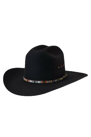 AKUBRA HAT BRONCO BLACK