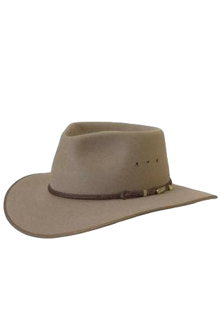 AKUBRA HAT CATTLEMAN BRAN - Workin' Gear