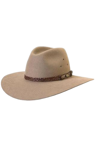 AKUBRA HAT  RIVERINA BRAN