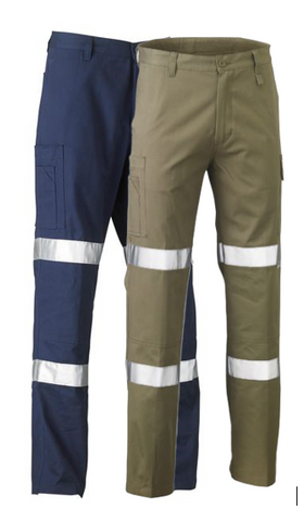 BISLEY BP6999T 3M BIOMOTION DOUBLE TAPED COOL LIGHT WEIGHT UTILITY PANT - Workin' Gear