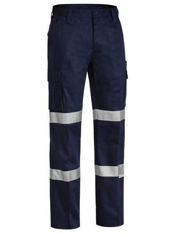 BISLEY BPC6003T 3M Double Taped Cotton Drill Cargo Pants - Workin' Gear