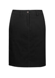 BIZ BS022L Women's Lawson Chino Skirt - Workin Gear