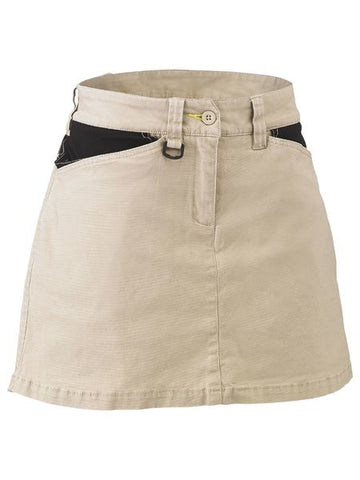 BISLEY BLS1024 Women's Flex & Move™ Stretch Cotton Skort - Workin Gear