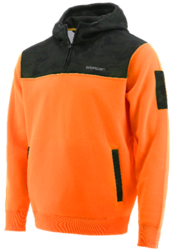 CAT Camo Hi Vis Hoodie Orange 1910070 - Workin' Gear