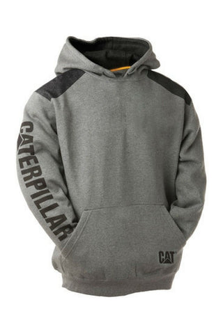 CAT Logo Panel Hoodie - Workin' Gear