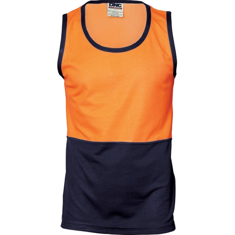 Workin Gear - DNC 3841 Cotton Back Two Tone Singlet