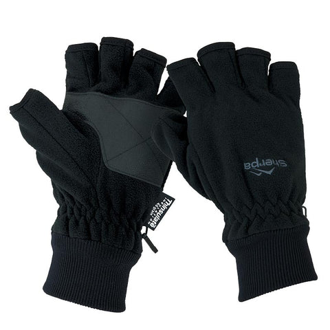 SHERPA Fingerless Fleece Gloves - Workin Gear