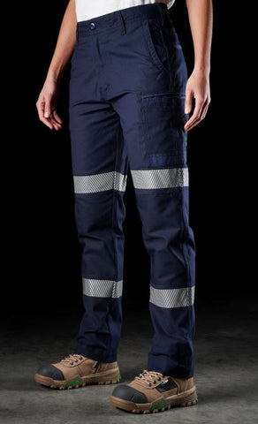 FXD WP◆3WT TAPED STRETCH PANTS - LADIES - Workin' Gear