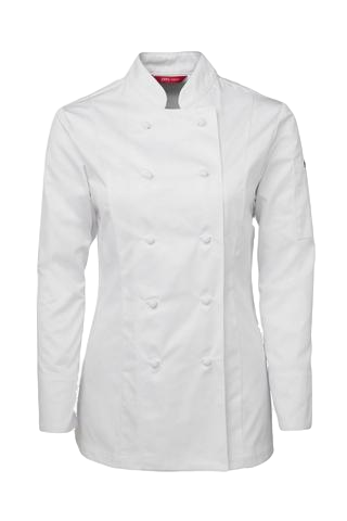 JB'S 5CJ1 LADIES CHEF JACKET L/S 2 GREAT COLOURS