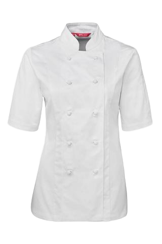 JB'S 5CJ21 CHEFS JACKET LADIES S/S 2 GREAT COLOURS
