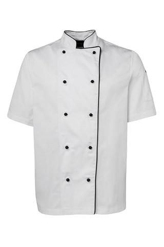 JB'S 5CJ2 UNISEX CHEFS JACKET S/S 3 GREAT COLOURS - Workin' Gear
