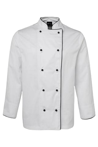 JB'S 5CJ UNISEX CHEFS JACKET L/S 3 GREAT COLOURS