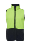 JB'S 6HVPV HIVIS POLAR FLEECE VEST - Workin' Gear