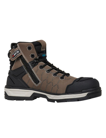 KING GEE K27120 Quantum Zip Side Safety Boot