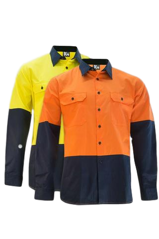 KM M2331NH HiVis L/S Shirt - Workin' Gear