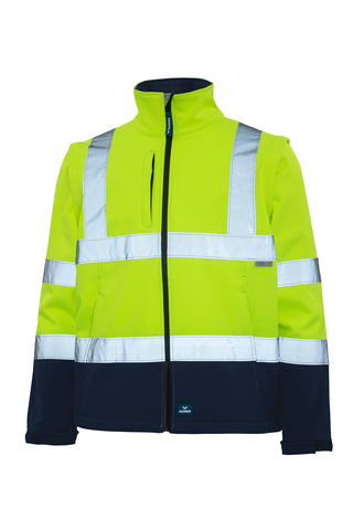 RAINBIRD 8430 LANDY SOFTSHELL HI VIS JACKET - Workin' Gear