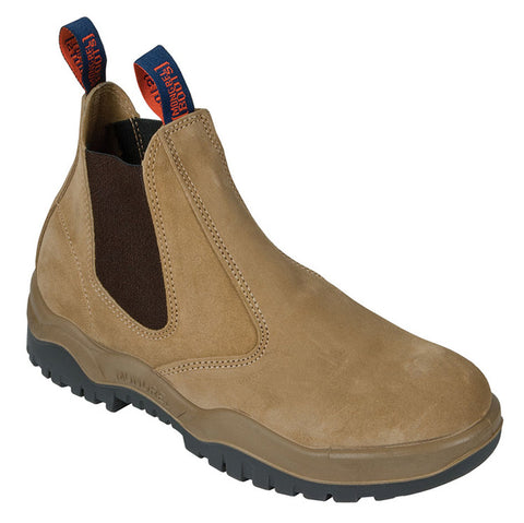 MONGREL 916040 NON-SAFETY ELASTIC SIDED BOOT - WHEAT - Workin' Gear