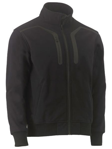 BISLEY PREMIUM SOFT SHELL BOMBER JACKET (BJ6960) - Workin' Gear