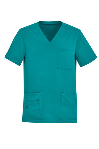 Mens V Neck Scrub Top - Workin' Gear
