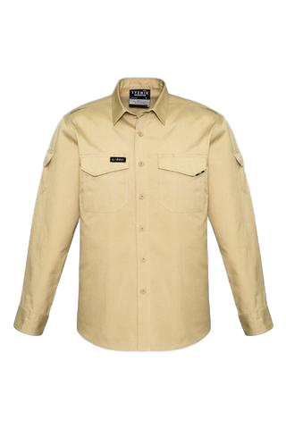 SYZMIK ZW400 MENS RUGGED COOLING L/S SHIRT