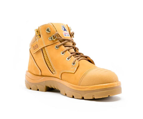 STEEL BLUE 312658 PARKES ZIP SCUFF CAP - WHEAT - Workin' Gear