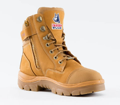 STEEL BLUE 512719 SOUTHERN CROSS® ZIP SCUFF BOOT LADIES - WHEAT - Workin' Gear