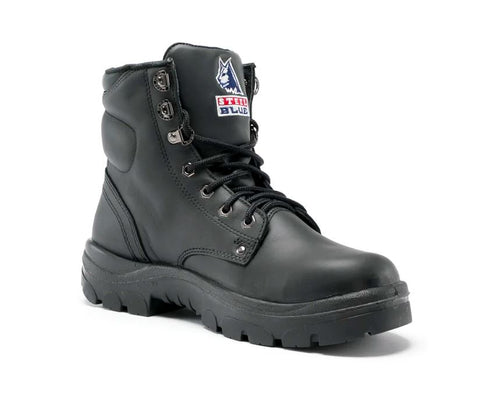 STEEL BLUE 312102 ARGYLE LACE UP BOOT - BLACK - Workin' Gear