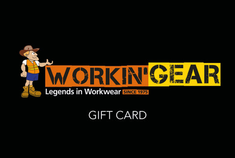 Gift Card - Workin' Gear