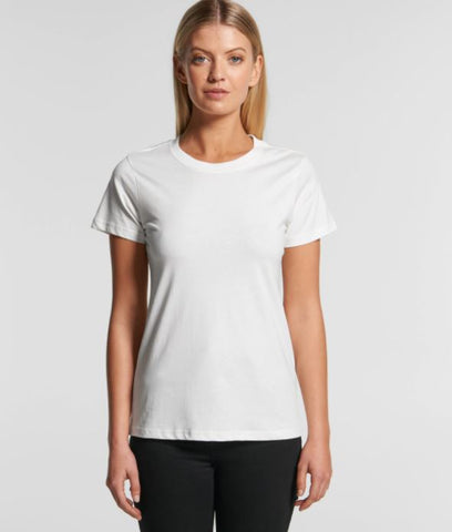 AS COLOUR 4001G Womens Maple Organic Tee - Workin Gear