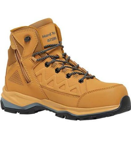 HARD YAKKA Atomic Hybrid Safety Boot - Wheat (Y60280)