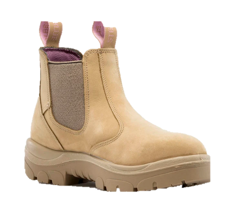 STEEL BLUE 512701 HOBART LADIES ELASTIC SIDED BOOT - SAND - Workin' Gear