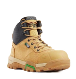 FXD WB◆2 4.5 ZIP SIDE WHEAT SAFETY BOOTS - Workin' Gear