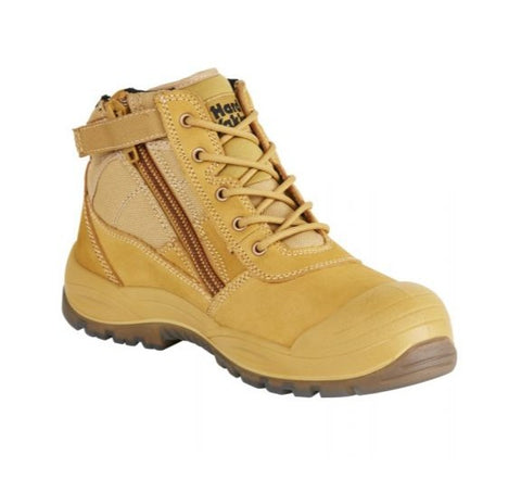 HARD YAKKA Y60120 Utility Safety Boot - Wheat - Workin' Gear