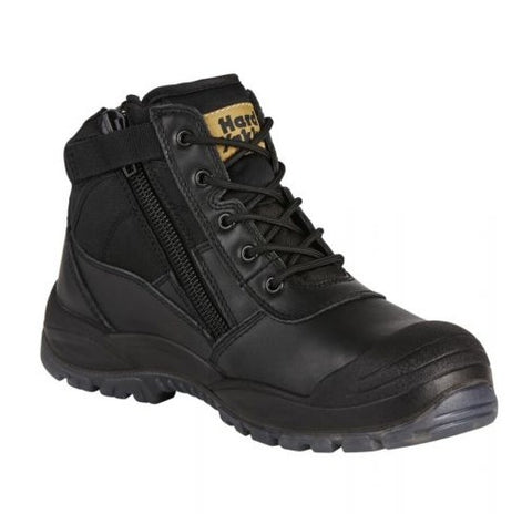 HARD YAKKA Y60125 Utility Safety Boot - Black - Workin' Gear