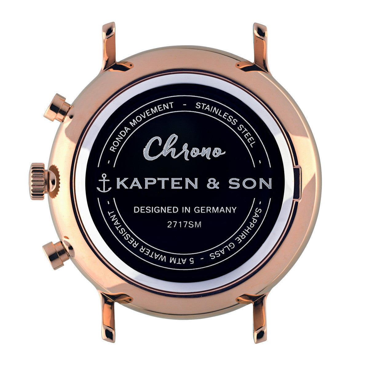 "Chrono ""Rose Woven Leather"" - Kapten & Son - Japan"