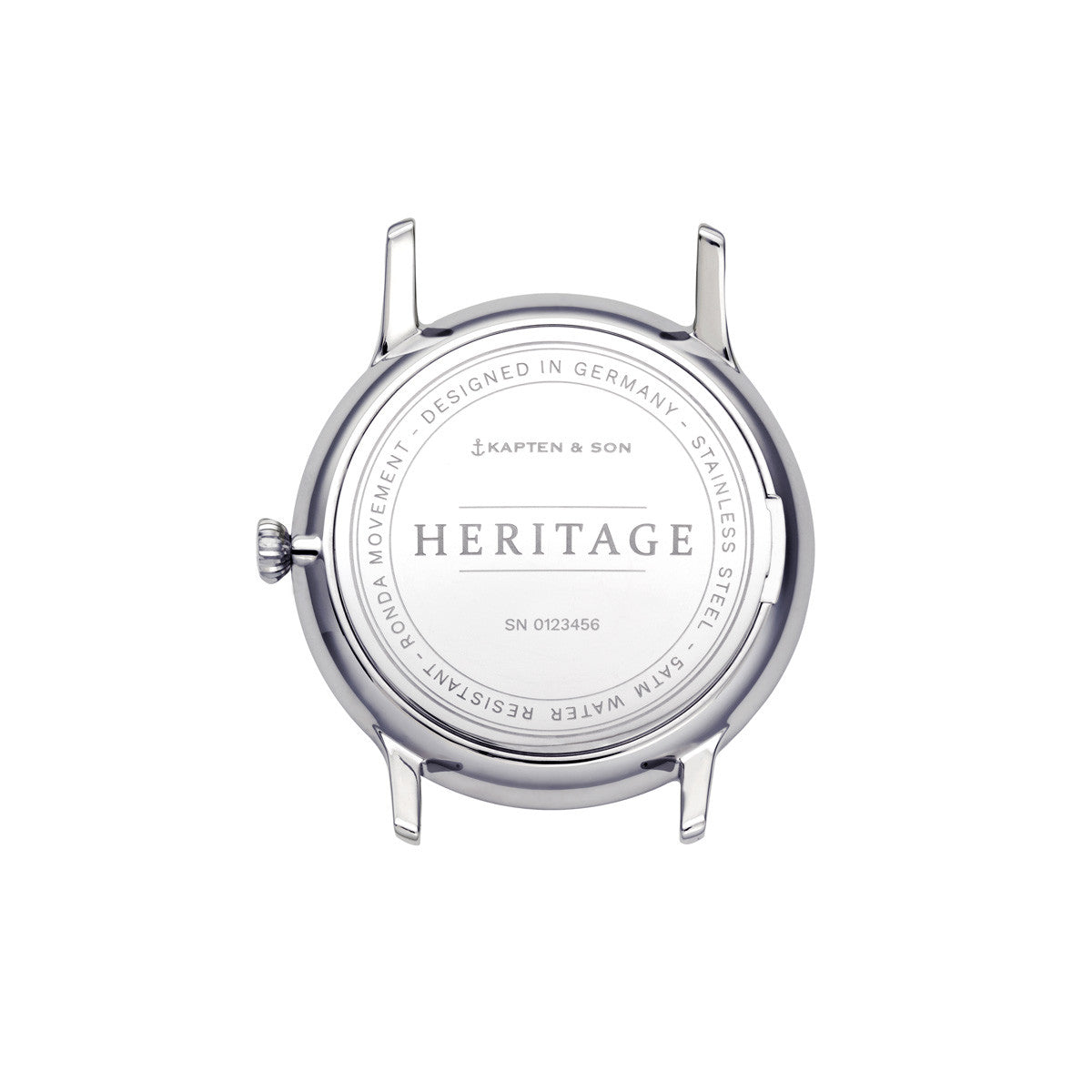 "Heritage Silver ""Black Brown Leather"" - Kapten & Son - Japan"
