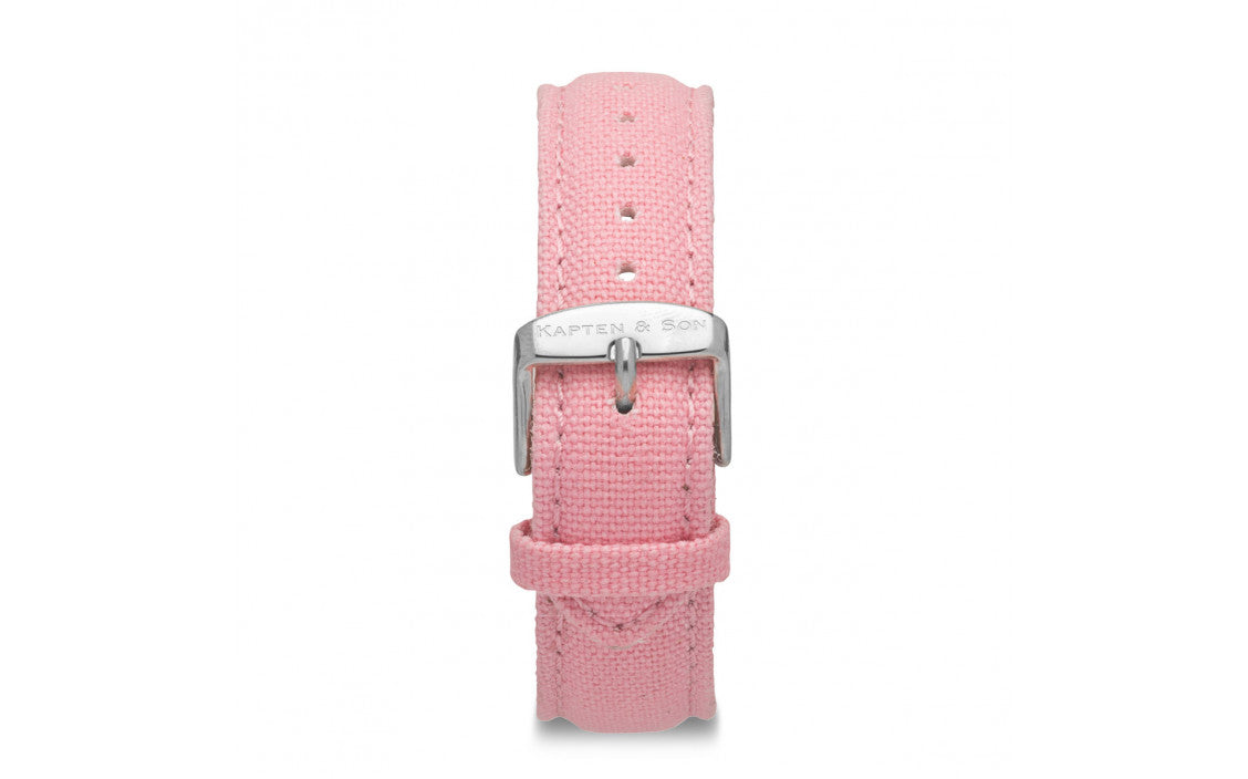Canvas Strap Pink - Kapten & Son - Japan