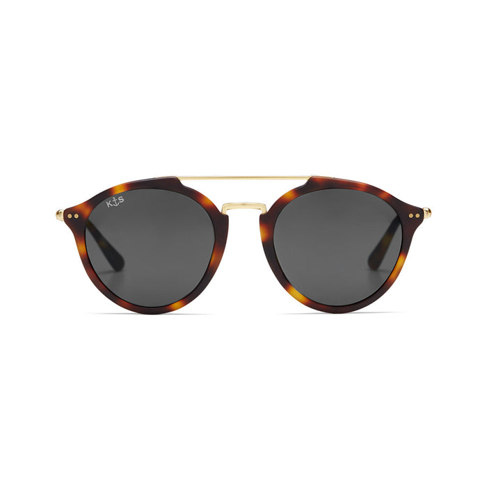Fitzroy Matt Tortoise Black Glass - Kapten & Son - Japan