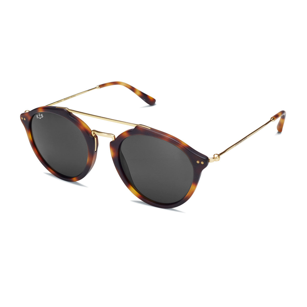 Fitzroy Matt Tortoise Black - Kapten & Son - Japan