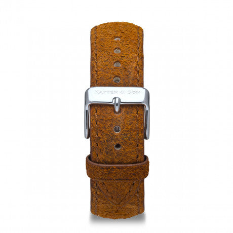 Leather Strap Brown Vintage Leather - Kapten & Son - Japan
