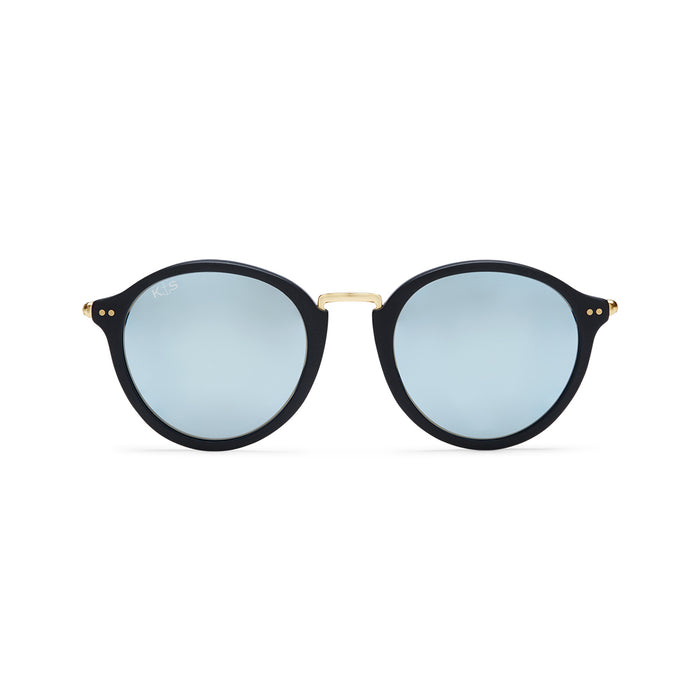 Maui Matt Black Blue Mir Glass - Kapten & Son - Japan