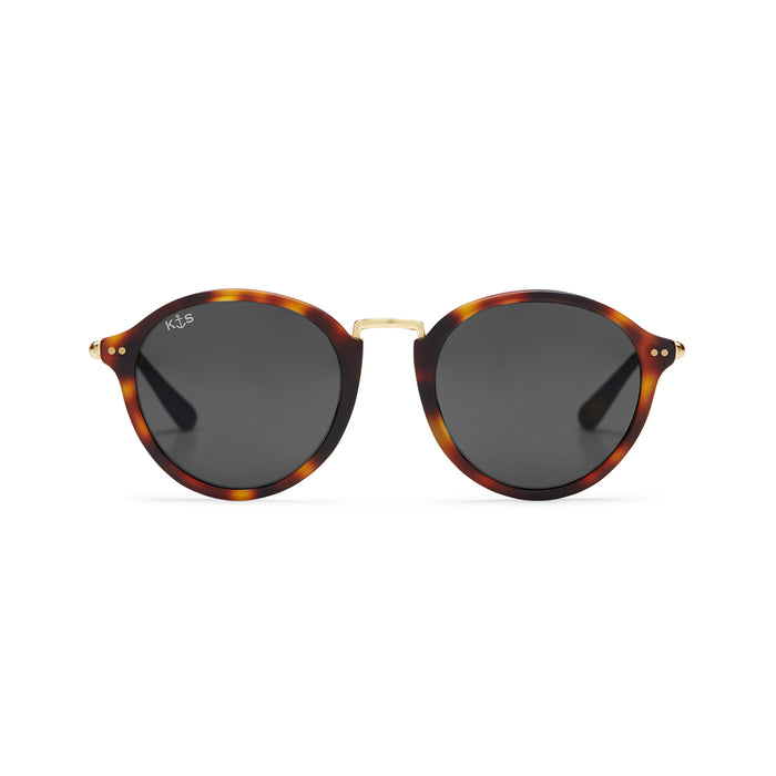 Maui Matt Tortoise Black Glass - Kapten & Son - Japan