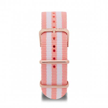 Nylon Strap Peach - Kapten & Son - Japan