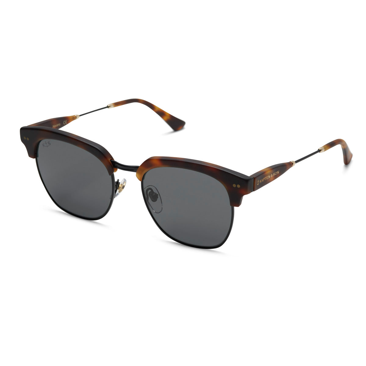 Havana Matt Tortoise Summernight Black - Kapten & Son - Japan