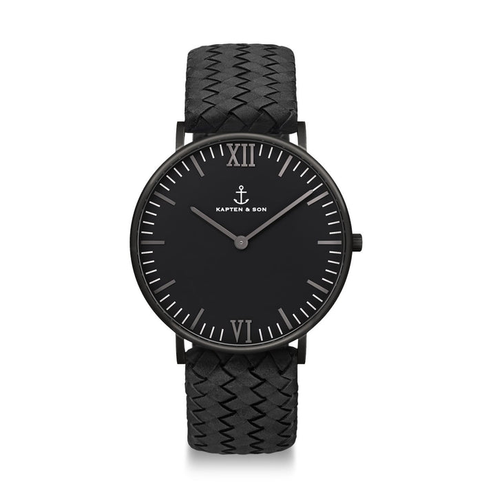 Campus Black Midnight Woven - Kapten & Son - Japan