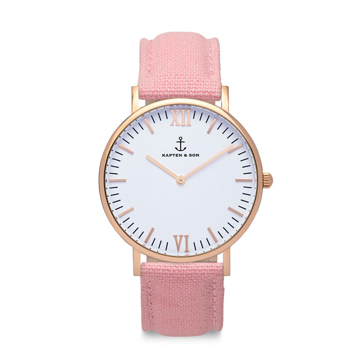 "Campus ""PINK"" Canvas - Kapten & Son - Japan"