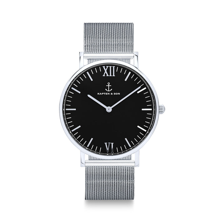 "Campus Silver ""Black Mesh"" - Kapten & Son - Japan"