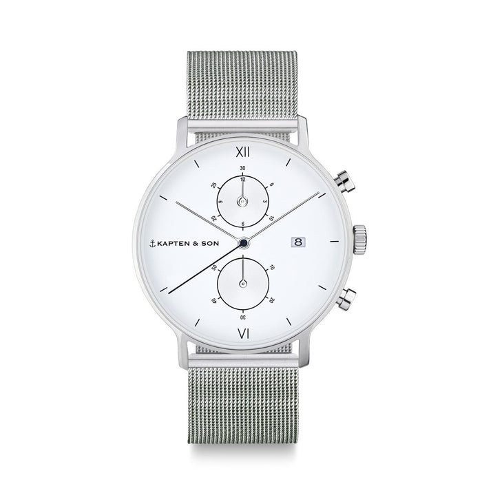 Chrono Silver Mesh - Kapten & Son - Japan