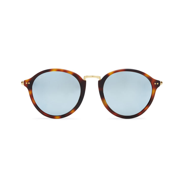 Maui Matt Tortoise Blue Mirrored - Kapten & Son - Japan